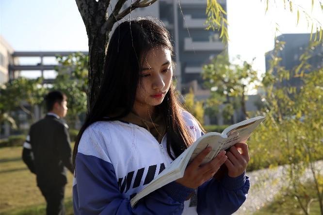东莞市技师学院横沥职教城的美丽校园