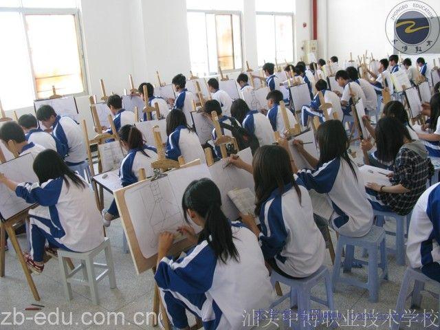 汕头市中博职业技术学校校园和宿舍图片