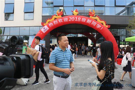 广州科技职业技术学院茂名滨海校区喜迎首批新生